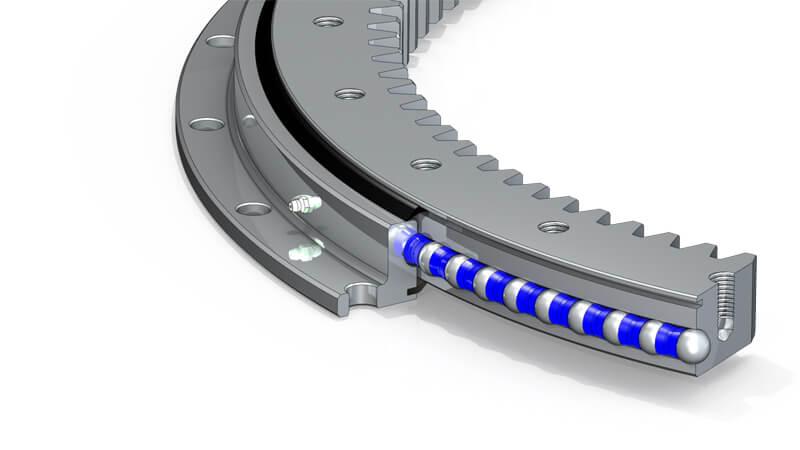 light series slewing bearing(Internal Gear)