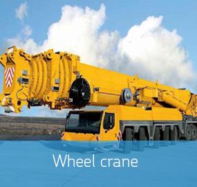Wheel crane