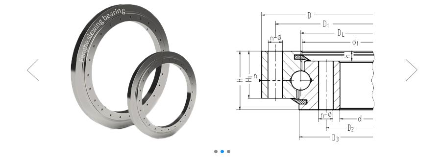 slewing bearing 010.30.500