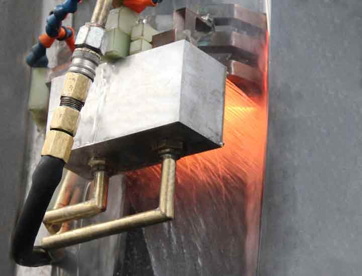 Slewing bearing materials and heat treatment