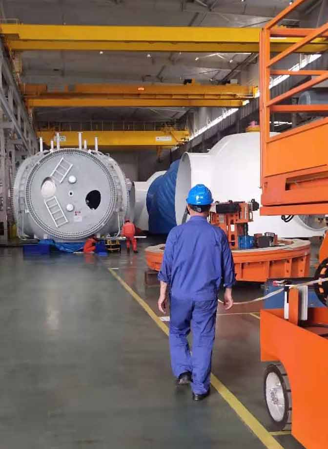 Slewing bearing after-sales service