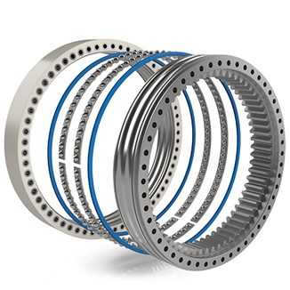 Double Row slewing bearing
